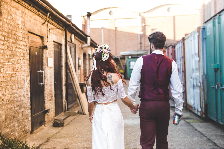 Alternative London Wedding Trintity Buoy Wharf-158