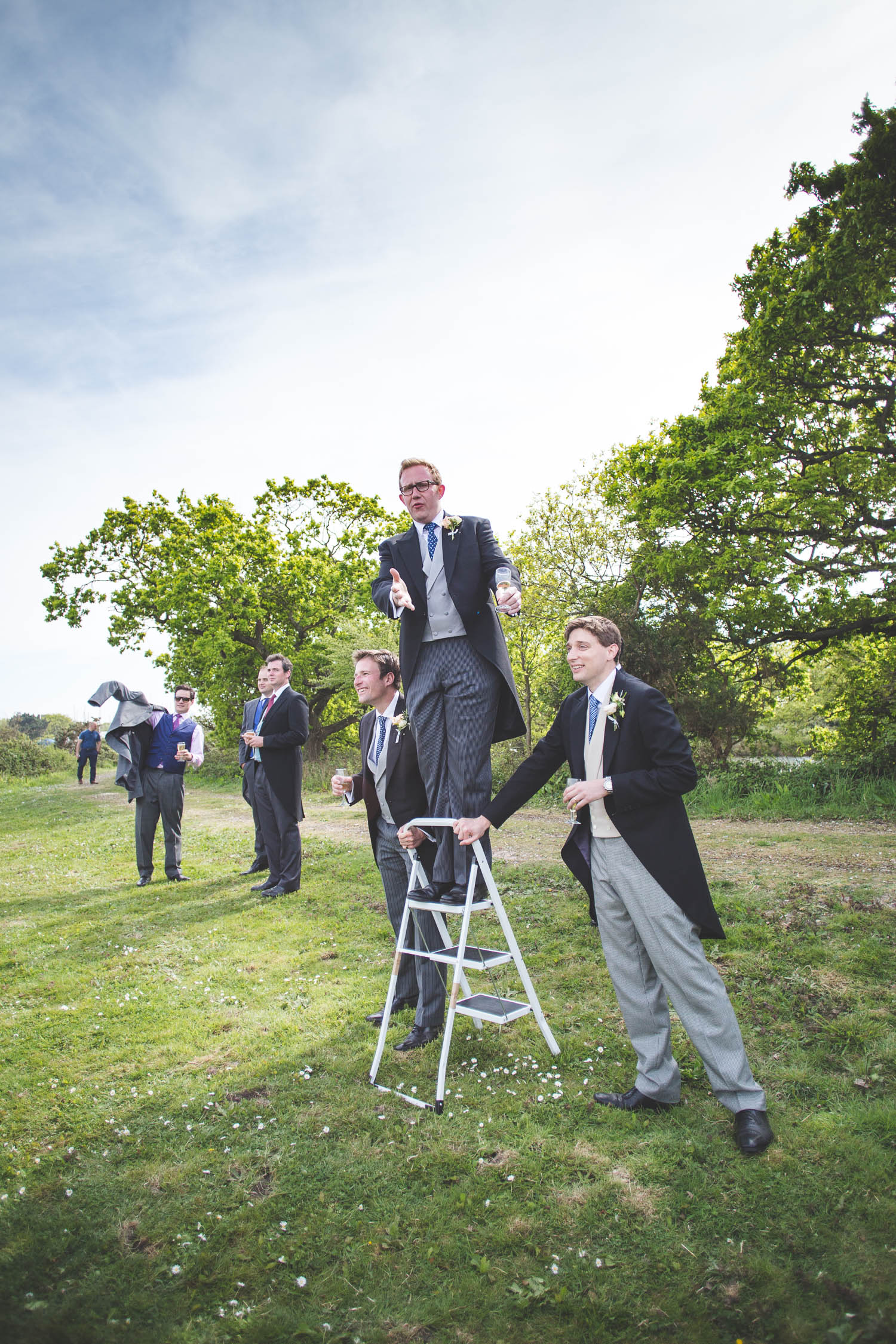 Alternative Wedding Photographer Woodland Wedding Hayling Island-264