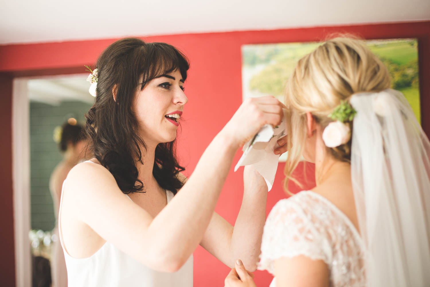 Alternative Wedding Photographer Woodland Wedding Hayling Island-54