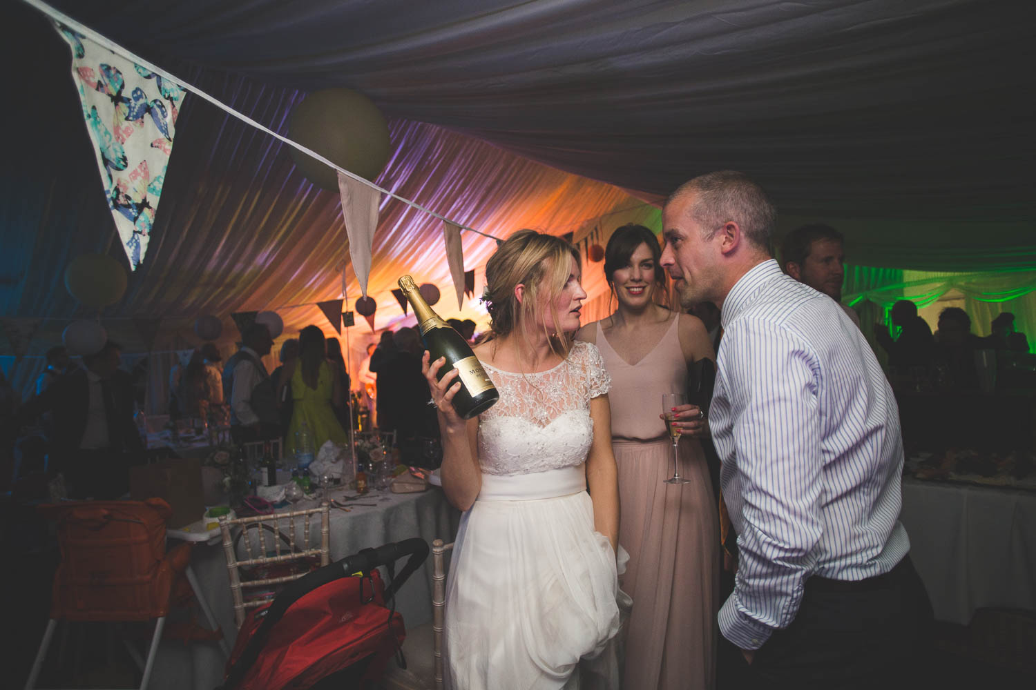 Alternative Wedding Photographer Woodland Wedding Hayling Island-573