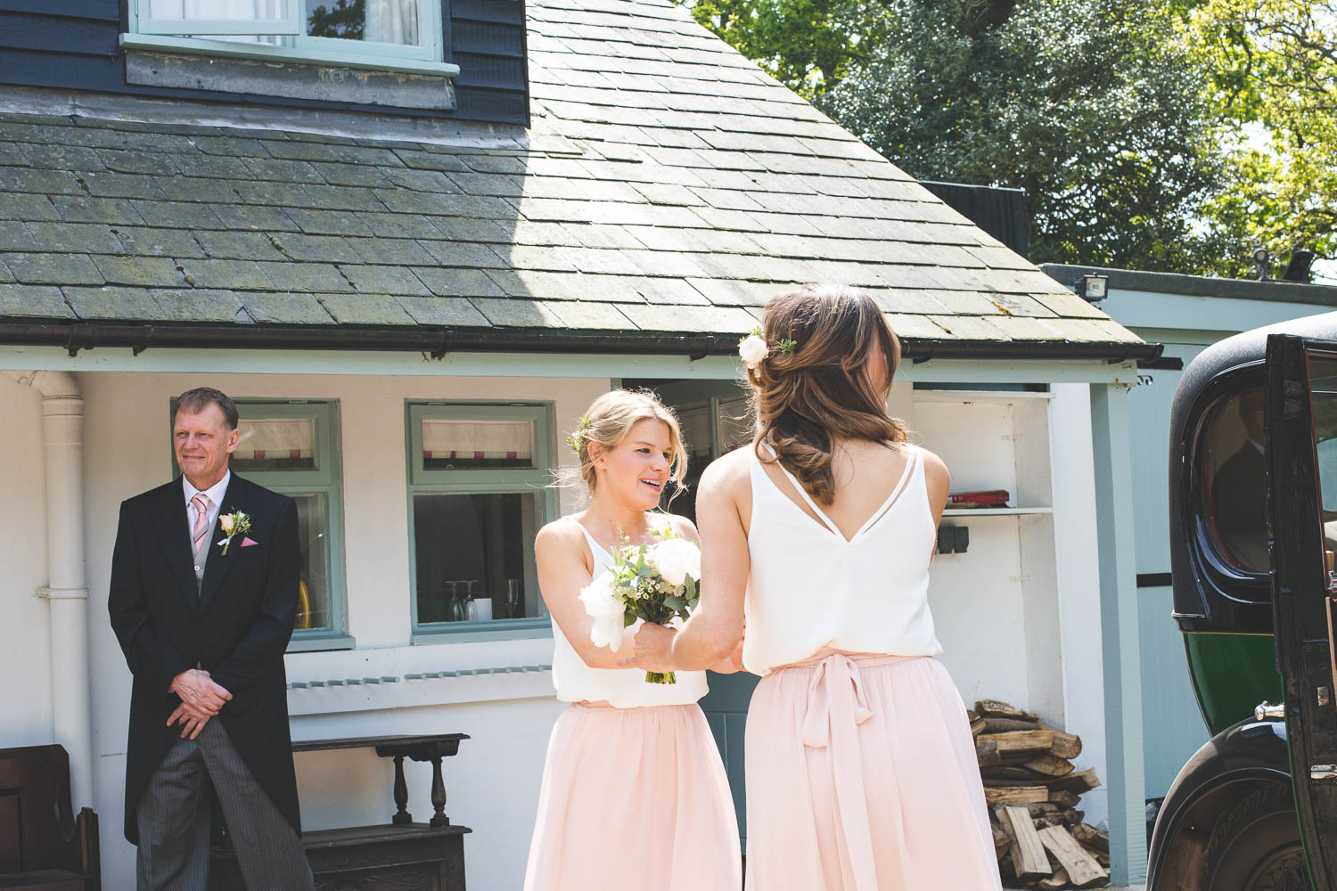 Alternative Wedding Photographer Woodland Wedding Hayling Island-68