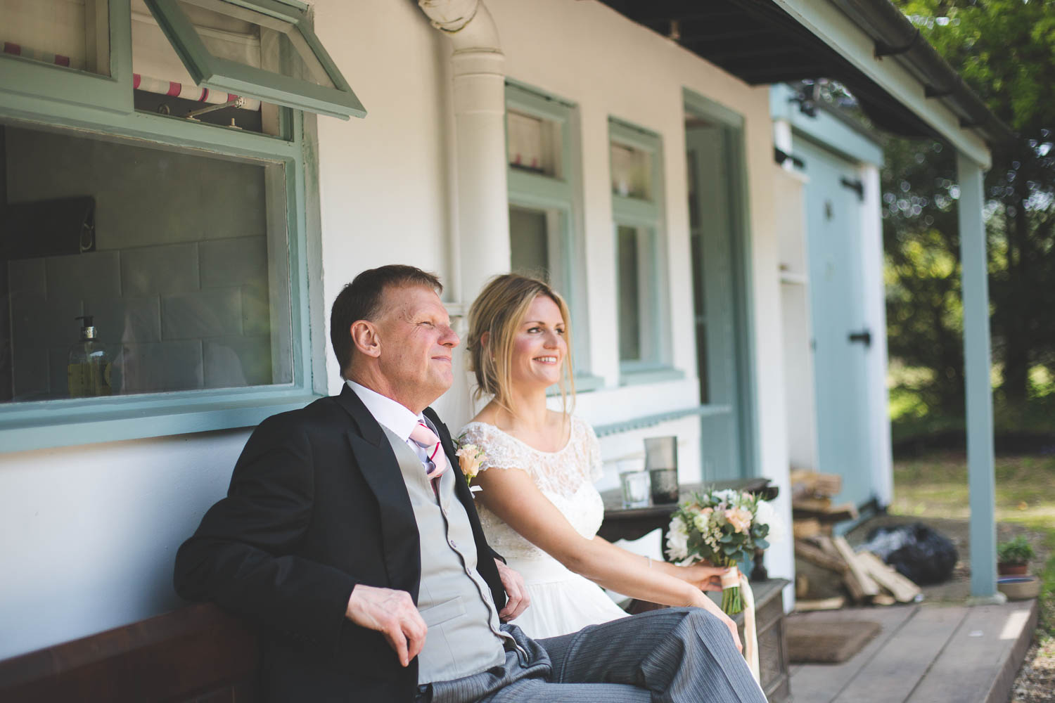 Alternative Wedding Photographer Woodland Wedding Hayling Island-78