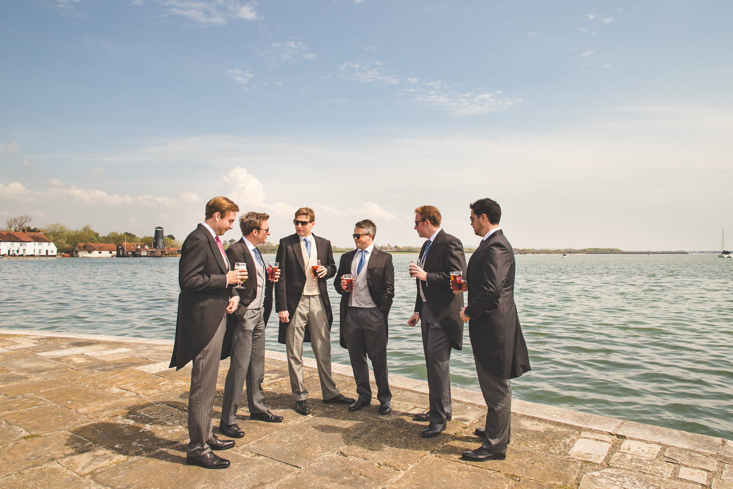 Alternative Wedding Photographer Woodland Wedding Hayling Island-86