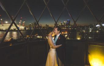 A Beautiful London Winter Wedding