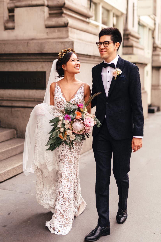 Micro wedding photographer London Bank