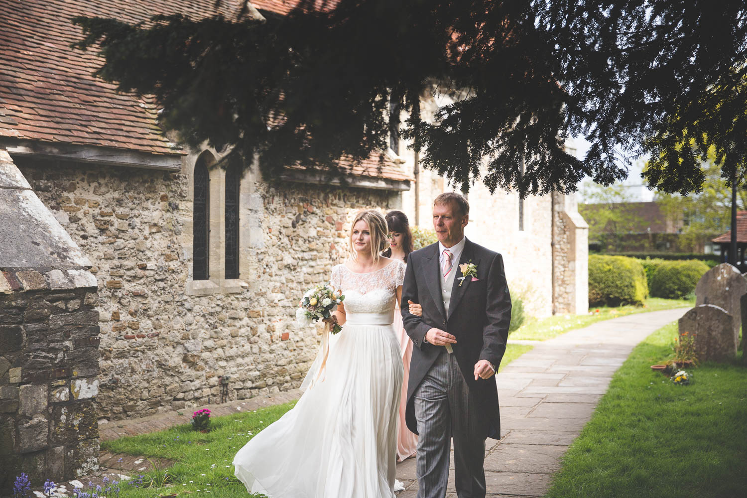 Alternative Wedding Photographer Woodland Wedding Hayling Island-157