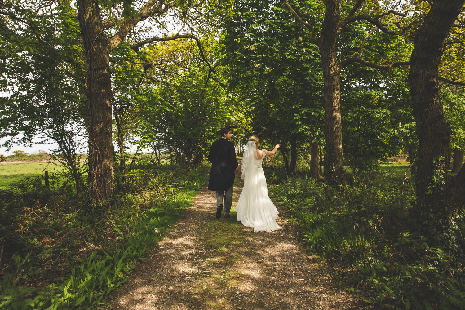 Alternative Wedding Photographer Woodland Wedding Hayling Island-250