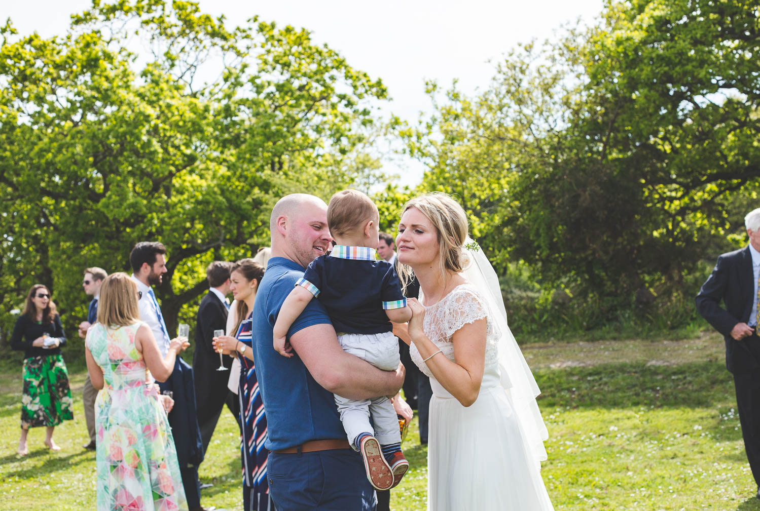 Alternative Wedding Photographer Woodland Wedding Hayling Island-255