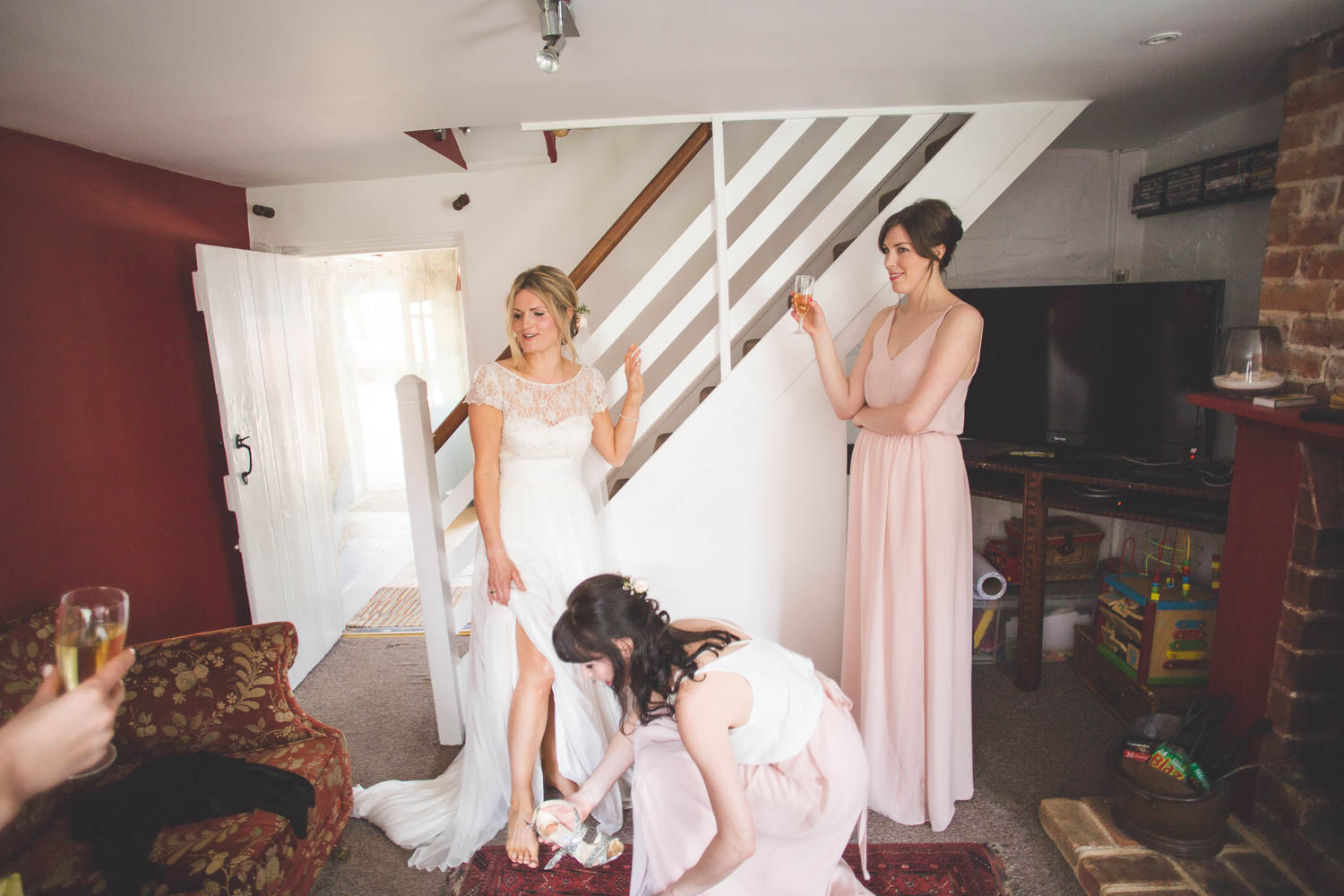 Alternative Wedding Photographer Woodland Wedding Hayling Island-46