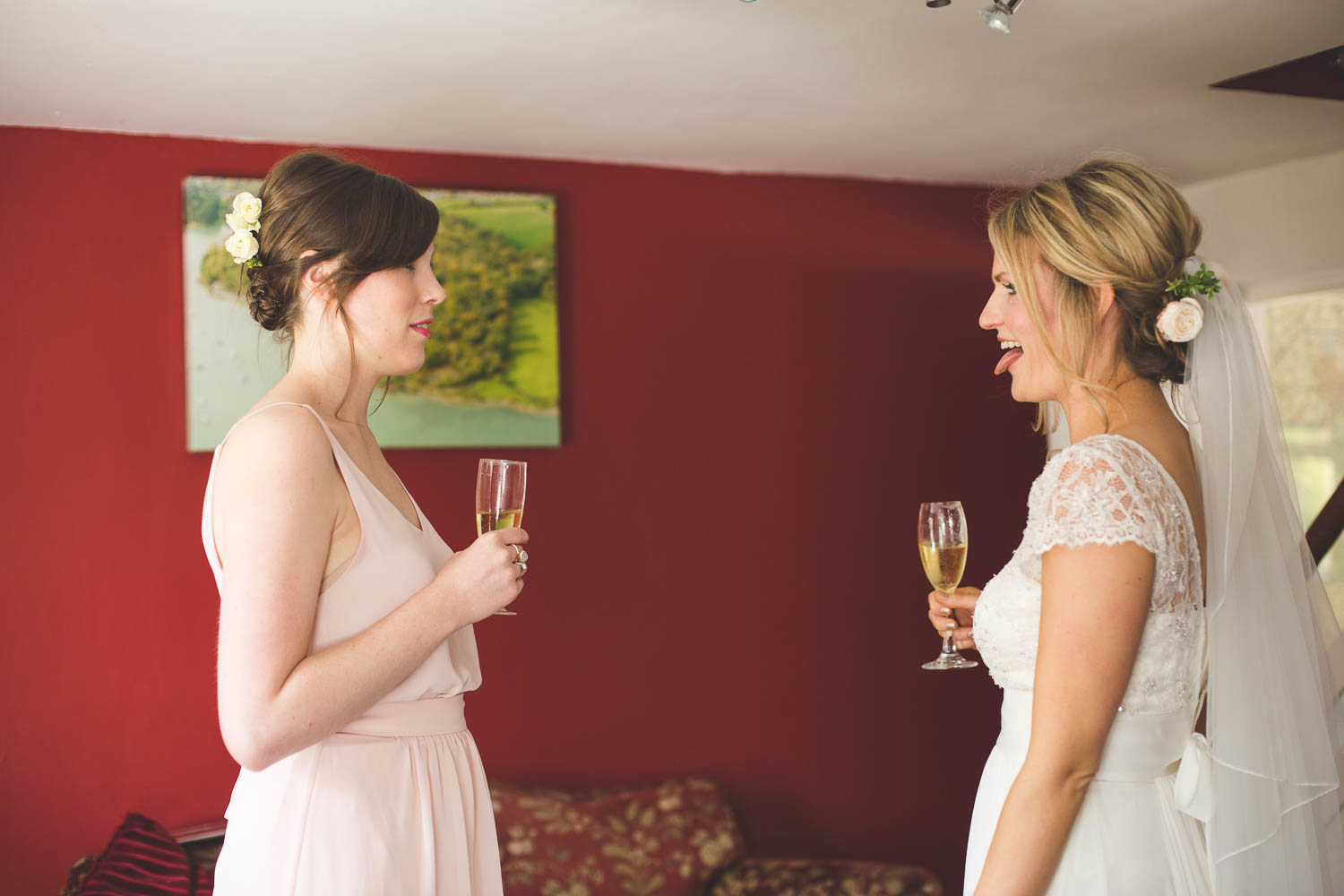 Alternative Wedding Photographer Woodland Wedding Hayling Island-55