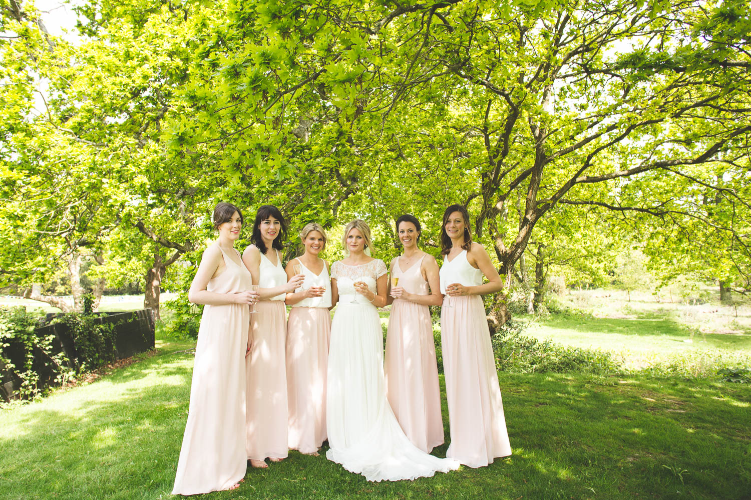 Alternative Wedding Photographer Woodland Wedding Hayling Island-58