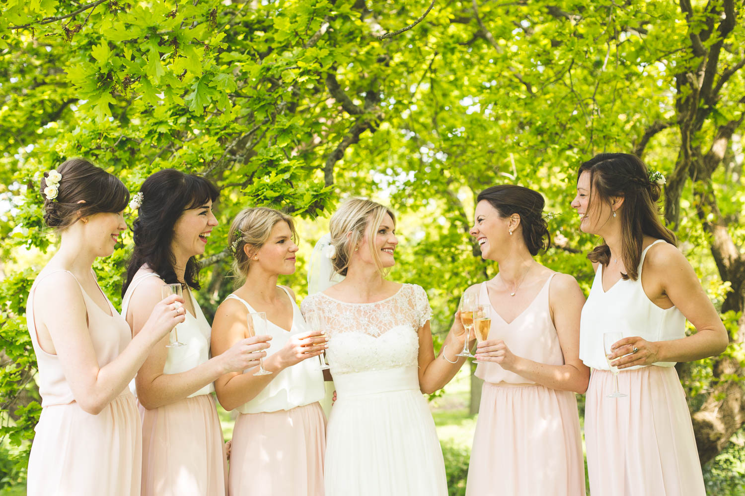 Alternative Wedding Photographer Woodland Wedding Hayling Island-59