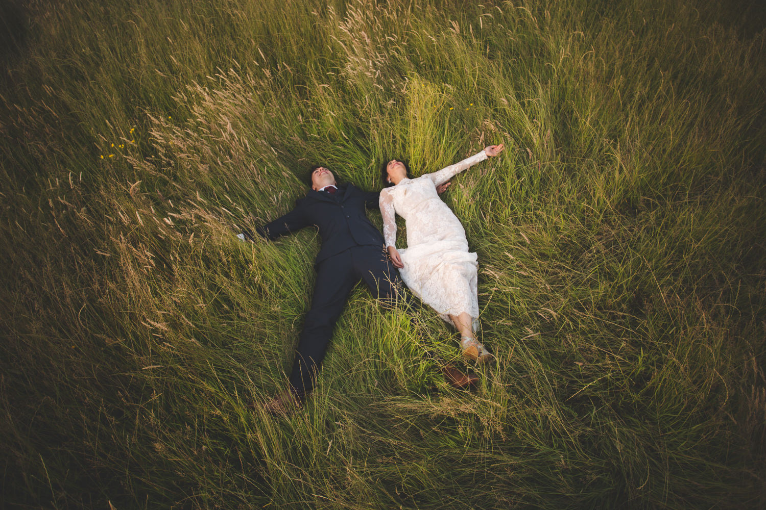 Fun natural wedding photography