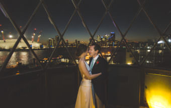 A Beautiful London Winter Wedding