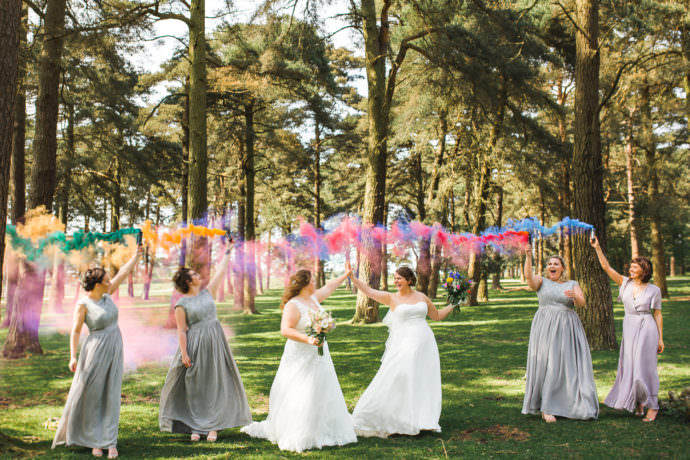 Fun Colourful Wedding Photography-16