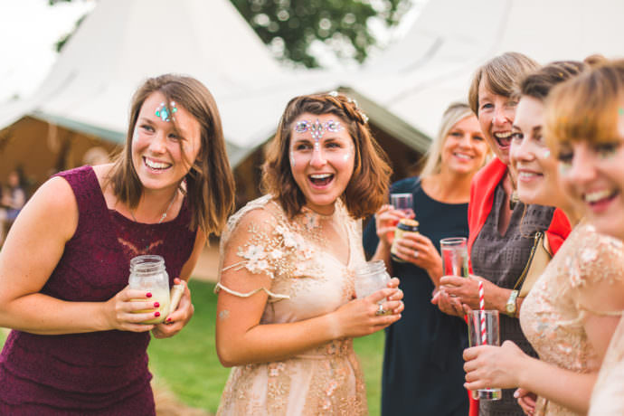 Rye Island West Sussex Tipi Festival Wedding Photography-67