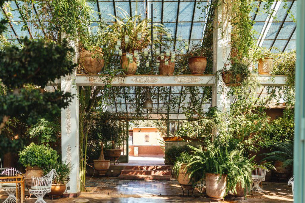 Greenhouse in Beldi Country Club Wedding Morocco