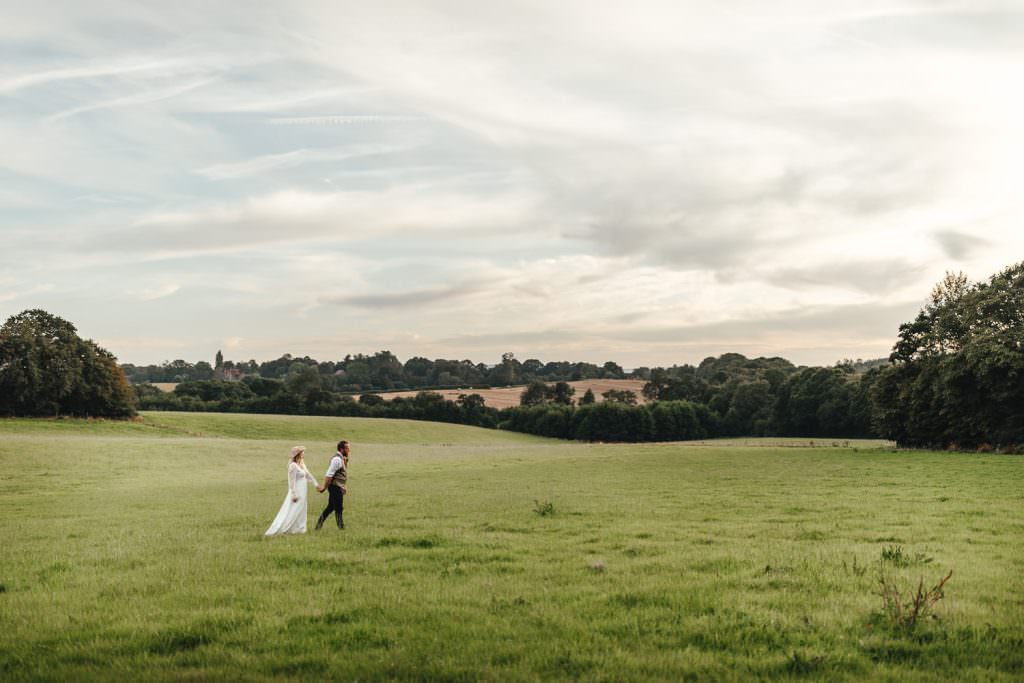 Festival wedding at Hawthbush Farm Wedding Photography