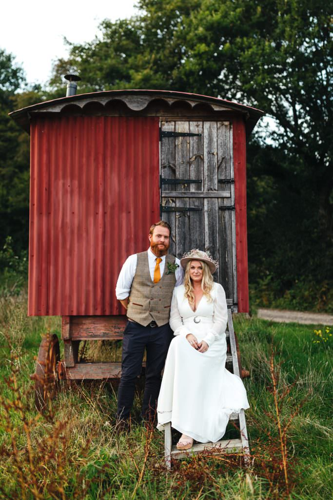 Festival boho wedding at Hawthbush Farm Wedding Photography