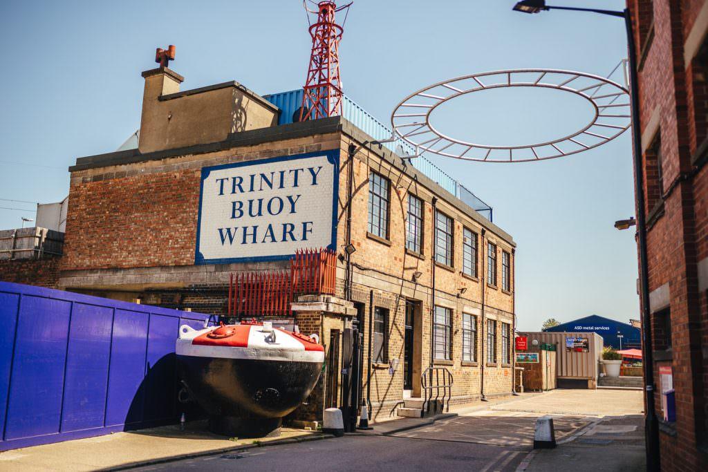 Trinity Buoy Wharf Urban Neon Wedding