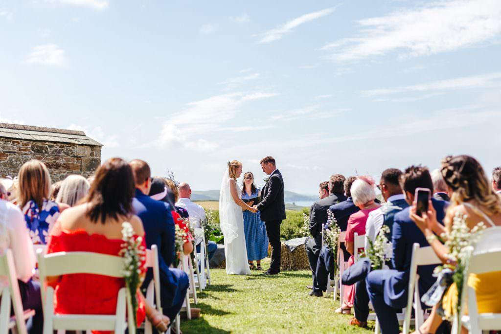 Humanist Wedding Ceremonies. Cornwall outdoor marque wedding ideas