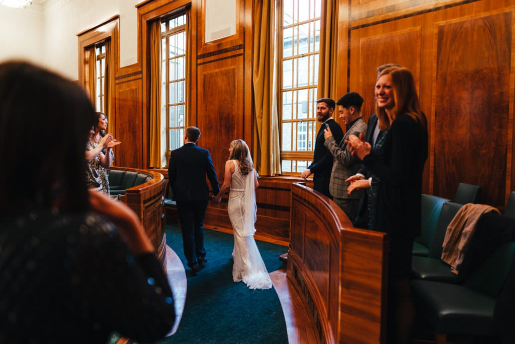 London Wedding Photography | St Barts Brewery Wedding Photography | Winter Wedding Hackney Town Hall