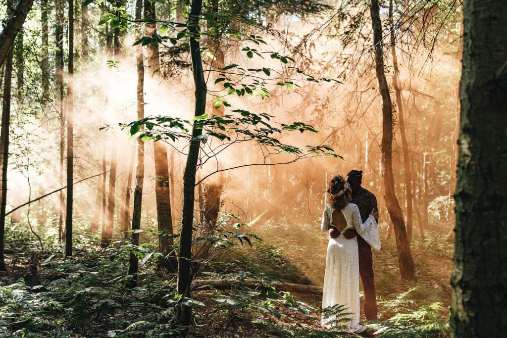 Elopement wedding photographer UK Scotland