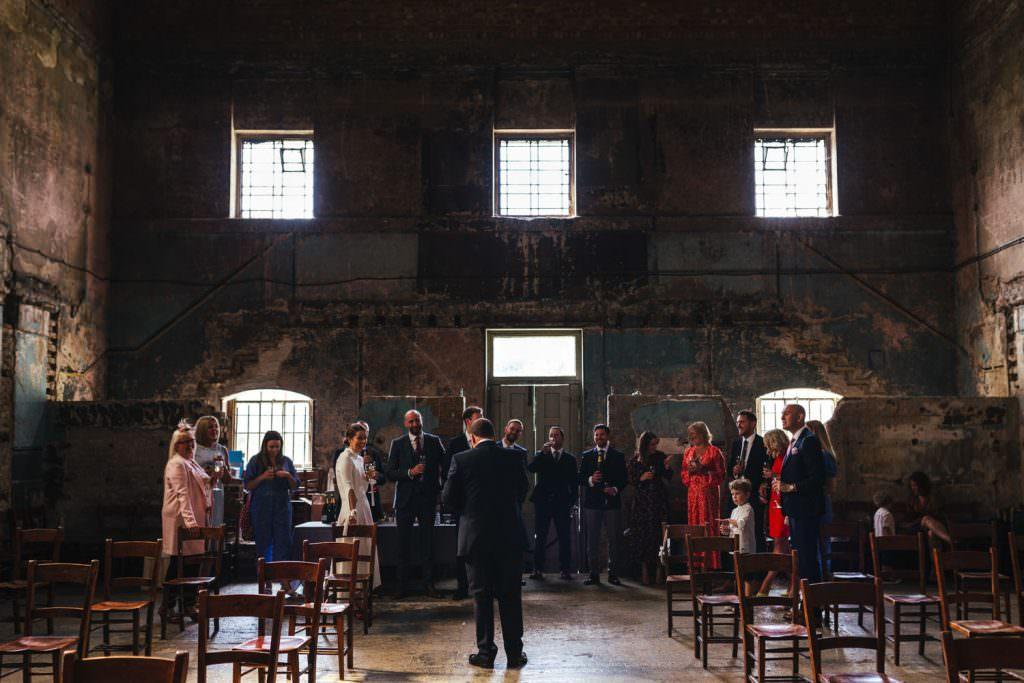 Wedding speech Asylum Micro Wedding Photographer London
