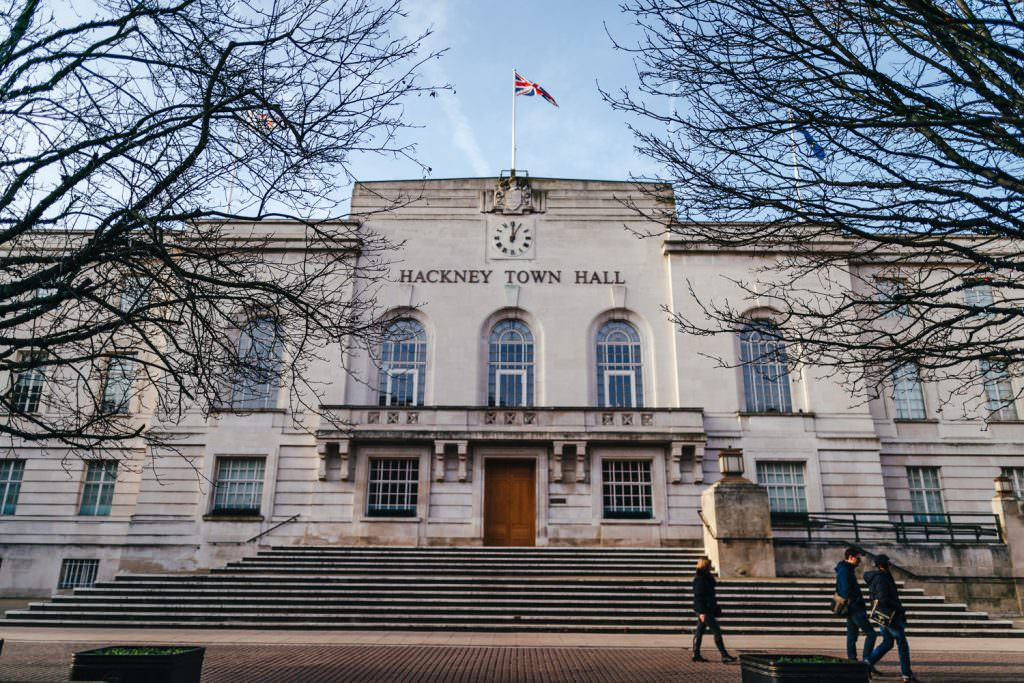 micro wedding venue london alternative small wedding venues Town hall wedding ceremony at Hackney Town Hall
